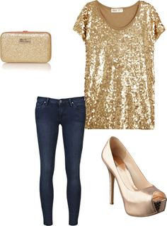 """""""fun and festive night out"""" by roxana-amedeo-quintana on Polyvore"""