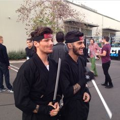 They're both obviously super adorable but being a Louis girl LOUIS IS THE SEXIEST DAMN NINJA I HAVE EVER SEEN HOLY FREAKING SHITEIHLAKWMR