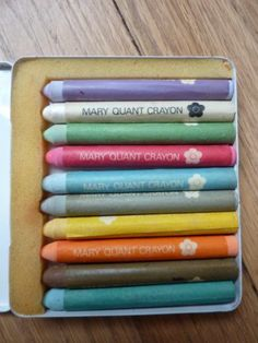 Vintage Mary Quant make-up crayons