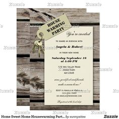 Shop Home Sweet Home Housewarming Party Invitations created by sunnysites. Custom Invitations, Invitation Cards, Housewarming Party Invitations, Youre Invited, White Envelopes, Paper Design, House Warming, Sweet Home, Party Ideas