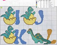 "Dino Alphabet: Letters ""I"" ""J"" ""K"" & ""L"""