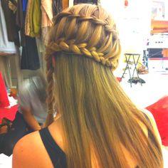 Trishs' hair by kayli