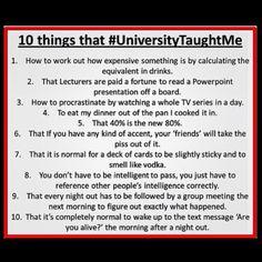 university - so true