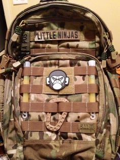 I use one of my 511 tactical Rush 12 as a diaper bag for my niece and nephew. #511tactical #multicam #edc