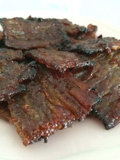 Singapore Home Cooks: Oven Grilled Bak Kwa by Cassandra Chee