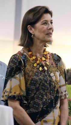 25. September 2017 Grace Kelly Granddaughter, Princess Grace Kelly, Princess Stephanie, Princess Charlene, 50 Fashion, Royal Fashion, Fashion Beauty, Arabic Wedding Dresses, Monaco Princess