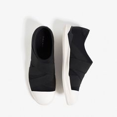 Image 1 of BLACK STRETCH SNEAKERS from Zara Crossover e9bd7eb6e0