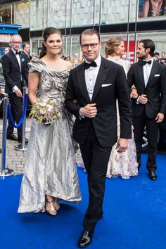 Princess Victoria and Prince Daniel of Sweden attends an award ceremony for the Polar Music Prize at Konserthuset on June 15 2017 in Stockholm Sweden