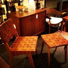 Great selection of Mid-Century modern furnishings.