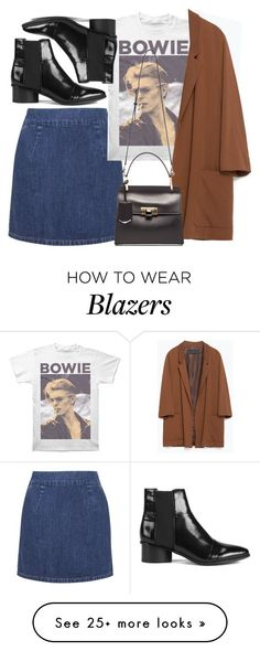 """""""Untitled #4386"""" by style-by-rachel on Polyvore featuring Topshop, Senso, Zara and Balenciaga"""