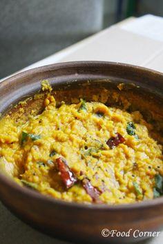 Sri Lankan Dhal Dry Curry