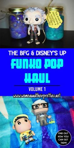 Funko Pop Haul Vol. 1 - The BFG and Disney's UP! Get a close up of these beauties and find out what's next on our FUnko Pop wish list!