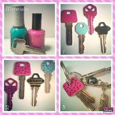 Moeten we de sleutels niet een beetje aantrekkelijk maken ;)?