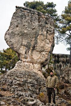 """""""Las Majadas"""" natural stone castle, Cuenca, Spain"""