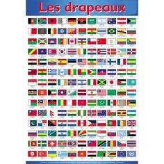 drapeaux et noms a decouper et coller sur des pics                                                                                                                                                                                 Plus