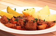 Manus Küchengeflüster: Gulasch vom Schwein in Dunkelbiersauce