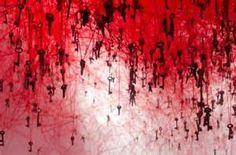 Chiharu Shiota entitled The Key in the Hand