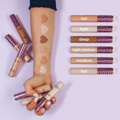 Image result for tarte shape tape concealer swatches