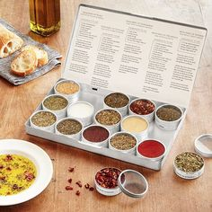 """Promising review: """"This was the perfect gift for my wife who is a lover of dipping seasonings. This kit comes with a great selection of spice and salt varieties and recipes to create unique flavor combinations. This will definitely be a gift to purchase again!"""" —DadooGet it from Uncommon Goods for $38."""