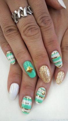 #nailart love the design here