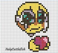 Cross Stitch Embroidery, Cross Stitch Patterns, Pixel Art Grid, 8 Bit Art, Pixel Art Templates, 3d Perler Bead, Anime Pixel Art, Pixel Pattern, Minecraft Pixel Art
