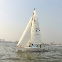 #Sailing at Gateway of India, #Mumbai on a J24 class sailboat! http://www.leisurekart.com/mumbai/activity/sailing-at-gateway-of-india-mumbai-j24-class-sailboat/ #ThingsToDoInMumbai