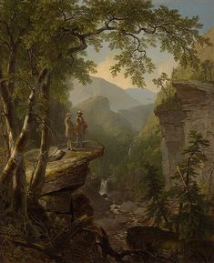 Asher Brown Durand Paintings-Kindred Spirits, 1849