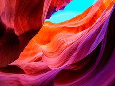 Antelope canyon USA nature wall art impresión por Chachaprints
