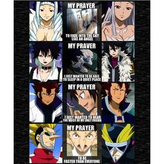 I love them even when they were the bad guys and girl Fairytail ❤ liked on Polyvore featuring anime and fairy tail