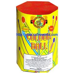 19s Colour Ball (0155 Fireworks from CC FIREWORKS CO.LTD on YYUber.com