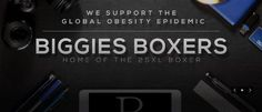 Home of the 25XL Boxer. Specializing in high quality comfortable & fashionable underwear sizes XS - 25XL. http://www.biggiesboxers.com