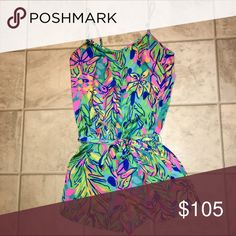 Deanna Romper EUC! Worn once by me and once by the previous owner.  just tighter than I prefer. definitely open to Lilly trades! Lilly Pulitzer Dresses