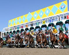 Love Del Mar Horse Racing! Where the surf meets the turf..... Can't wait for opening day!!