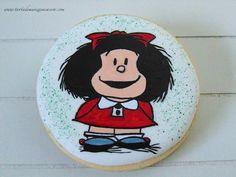 Galletas pintadas a mano de Mafalda-Mafalda Hand painted cookies