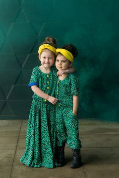 The Top Knot pdf sewing pattern offers both a romper & dress view. You can create a casual romper or a formal dress depending on fabric choice and view. Tunic Sewing Patterns, Clothing Patterns, Diy Clothing, Rompers For Kids, Knitted Romper, Romper Dress, Sewing For Kids, Sewing Ideas, Top Knot