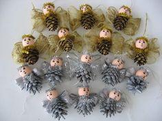 Pine Cone Art, Pine Cones, Church Nursery, Christmas Diy, Christmas Ornaments, Xmas Crafts, Advent, Holiday Decor, Xmas
