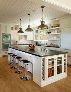 Nice big kitchen island