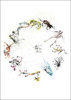 Zodiac-Salvador Dali
