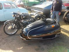 Nice BMW and Tilbrook sidecar