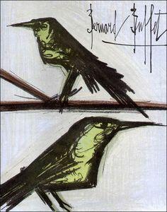 Bernard Buffet - Pair of Birds