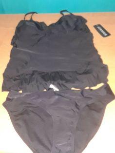 Swimsuits for Women Wokasun.JJ Two Piece Plus Size Swimwear Women Printed Bathing Ruffle Swimsuit Beachwearat A Reduced Price Swim Suites