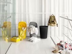 Hideaway bin designed by Finnish Mika Tolvanen for Danish Muuto. For laundry or trash. www.muuto.com