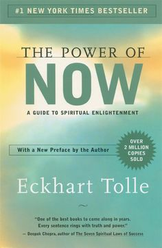 The Power of Now: A Guide to Spiritual Enlightenment by Eckhart Tolle.  A classic book of self improvement/enlightenment!