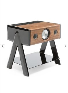 Apple Tv, Cubes, Bluetooth Gadgets, Bluetooth Speakers, Rear Speakers, Petites Tables, Audio Design, Red Dot Design, Ipad