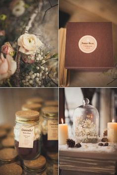 Lovely chocolate inspired wedding theme!  www.bellabride.co.za