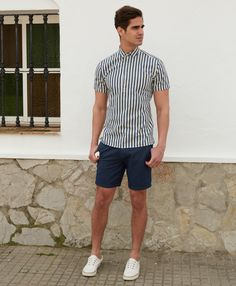 We've put together a few short and swim trunk styles to help you avoid those heavy denims. Your legs will thank you.