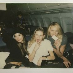 Pin for Later: We Have Your Backstage Pass to the VS Fashion Show  Lily Aldridge, Behati Prinsloo, and Candice Swanepoel.