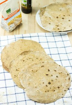How to make the best flour tortillas that are tastier, healthier and better than store-bought. Easy to follow recipe needing only flour, water and oil.