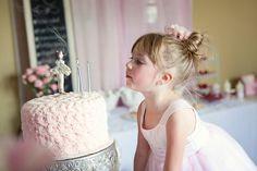 El Homespun Anfitriona: Una Parte de la bailarina por cuarto cumpleaños de Annabelle