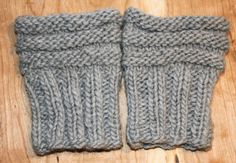 How to Make Boot Toppers | ... Boot Cuffs. Boot Toppers. Boot Socks. Grey Leg Warmers. Wool Boot Cuff
